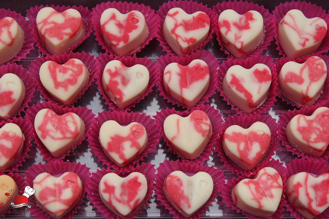 Šarene praline sa čokoladom