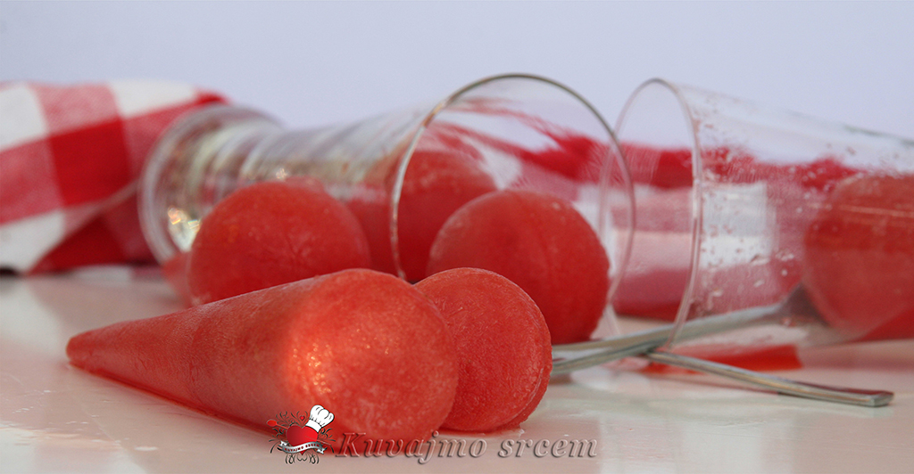 Ice pops od lubenice