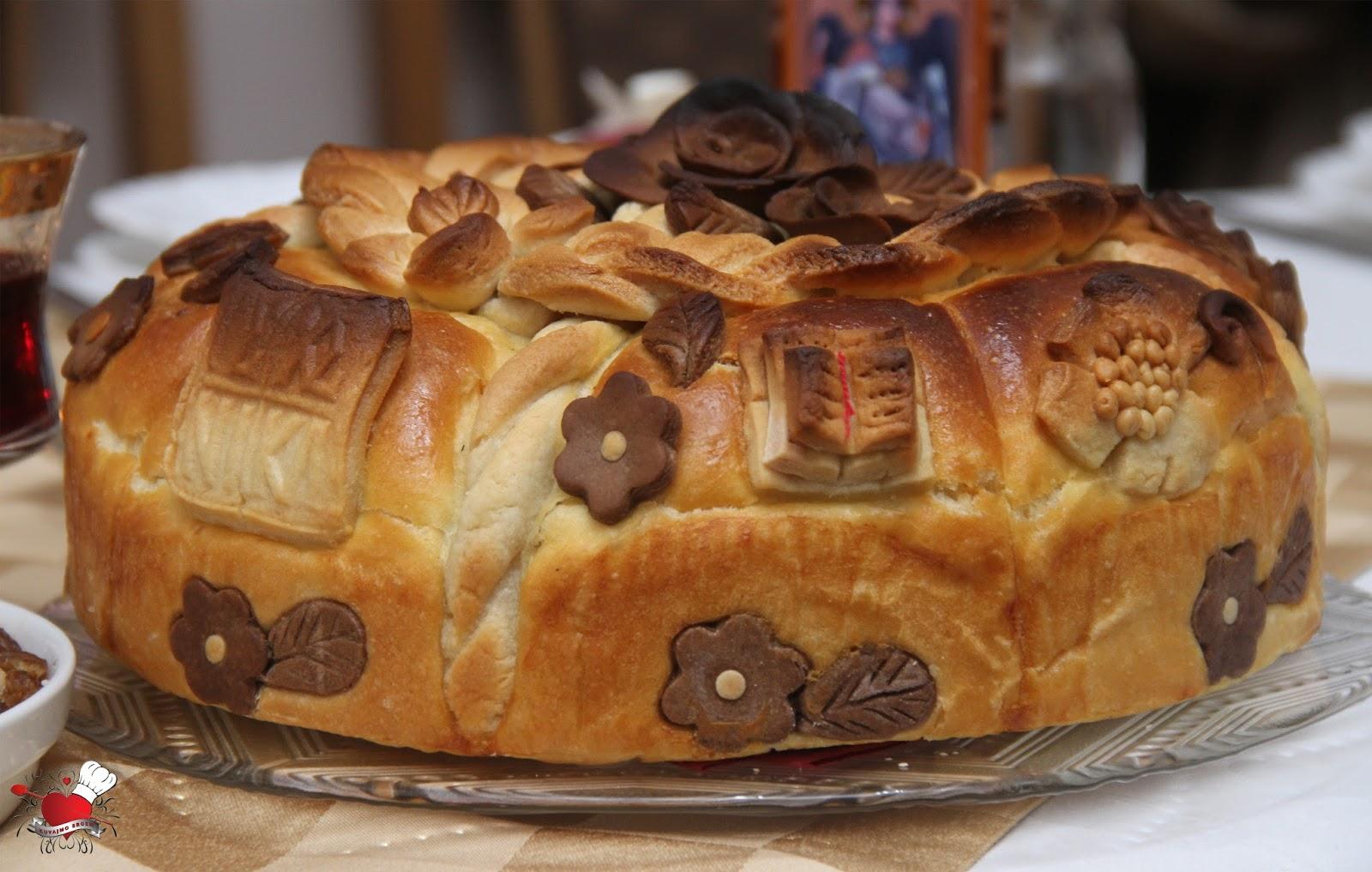 Slavski kolač – mrsni
