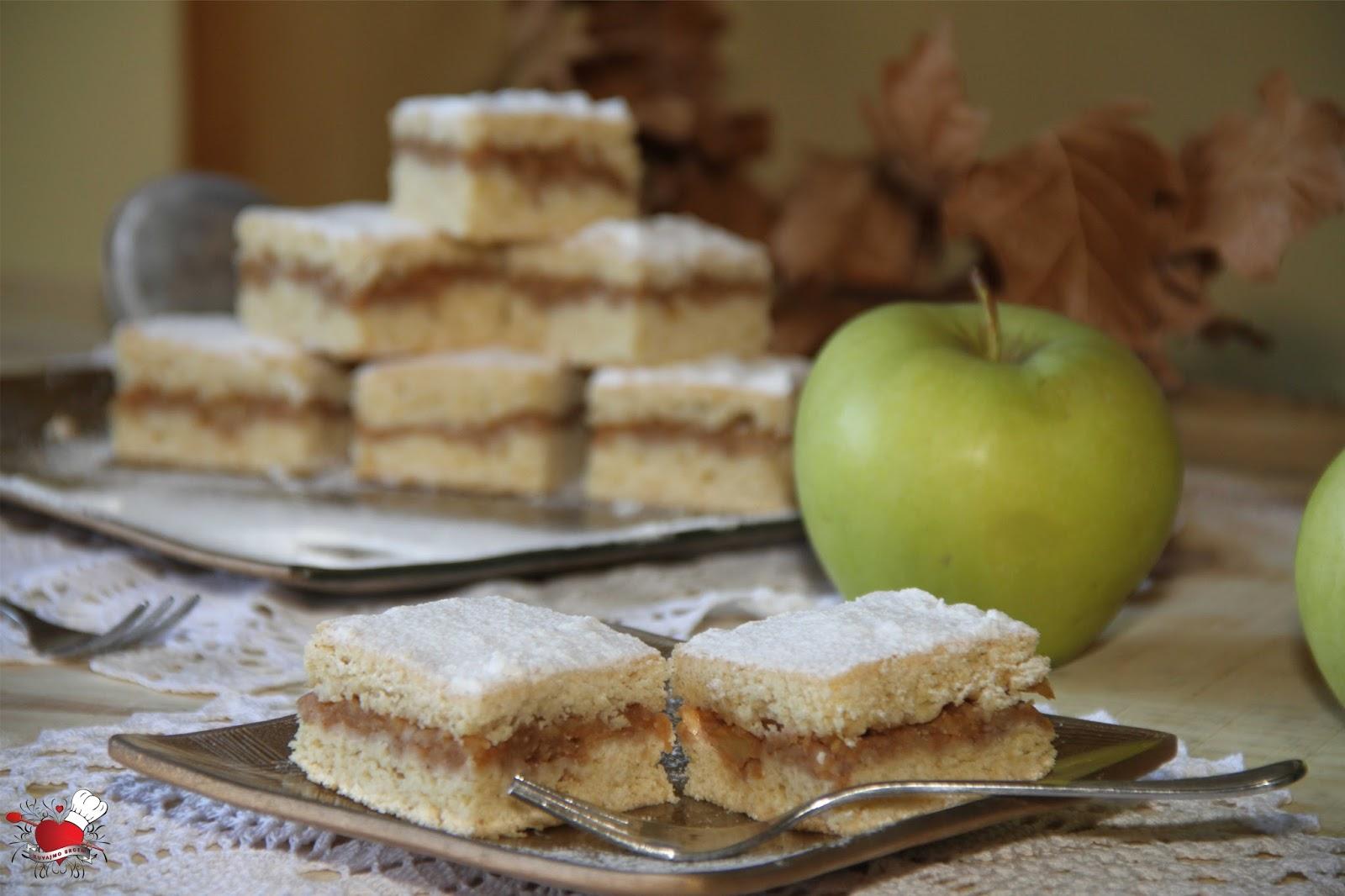 Lenja pita sa jabukama i orasima