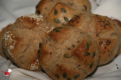 Pogačice od heljdinog i pšeničnog brašna